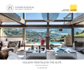 Luxury Places Holiday Rentals in the Alps