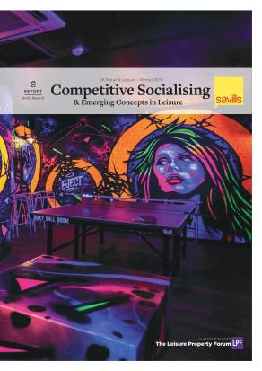 Competitive socialising and emerging concepts in leisure
